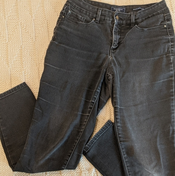 Charter Club Denim - Charter Club Distressed Black Jeans Pant